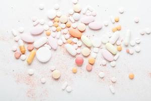 verschiedene Pillen foto