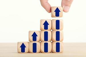 Geschäftswachstumskonzept foto