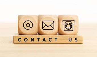Kontaktieren Sie uns Konzept foto