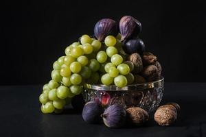 Stillleben von Früchten foto