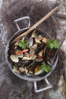 Suppe Meeresfrüchte foto