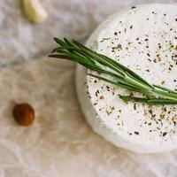 Käse und Cashew foto
