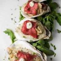 gebratene Austern