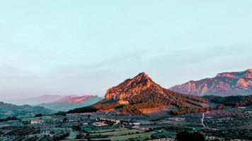 ein Berg in Katalonien