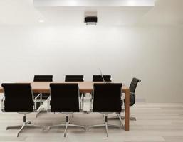 Büroraum mit Stühlen