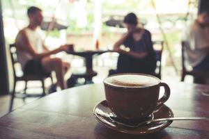 Tasse Kaffee foto
