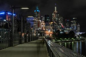 Gebäude von Melbourne foto
