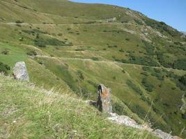 Hügel in Südtirol foto