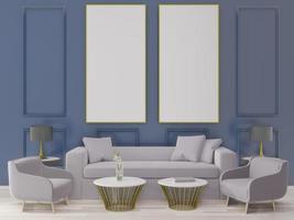abstraktes Wohnzimmer