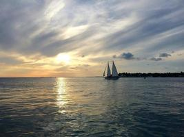 Bootfahren in Key West foto