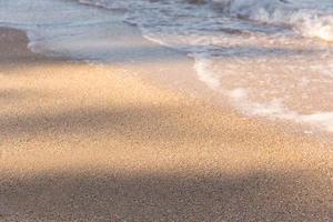 Nahaufnahme eines Strandes