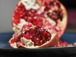 frische Granatapfelkerne foto