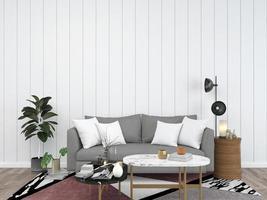 gemütliches Wohnzimmer Interieur