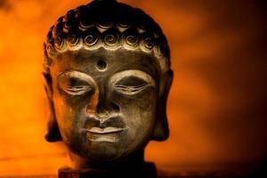 Gesicht von Buddha foto