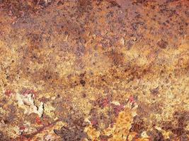 Hintergrund aus rostigem Metall