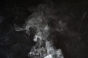 weiße Rauchbeschaffenheit