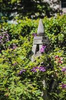 hölzerne Gartenstruktur foto