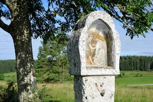 christliches religiöses Denkmal