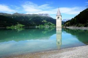 Turm in Reschensee