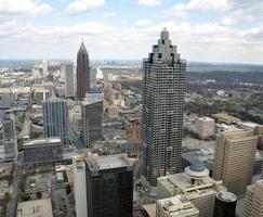 Blick auf Atlanta foto