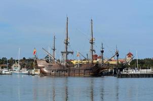 Vintage Galeonenschiff foto