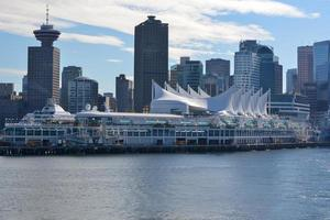 Skyline von Vancouver tagsüber foto