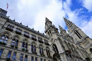 das Rathaus in Wien