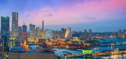 Innenstadt von Yokohama Stadt