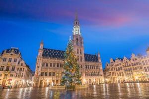 Skyline der Innenstadt von Brüssel