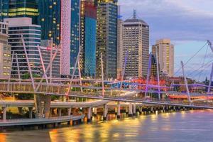 Brisbane Stadt Skyline