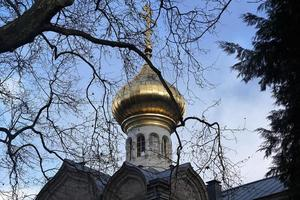 orthodoxe kirche in baden baden foto