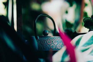 blauer Teekessel