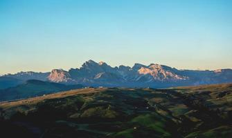 schlern berg in italien