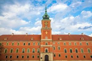 königliche Burg in Warschau