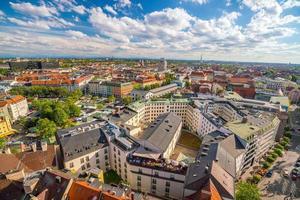 Münchner historisches Zentrum Panorama foto