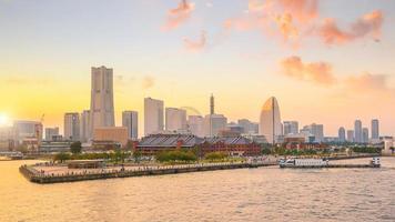 Yokohama Stadt in Japan