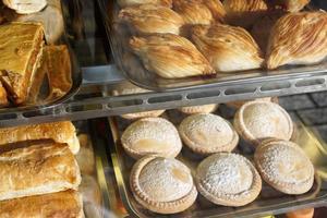 Gebäck in der Bäckerei foto