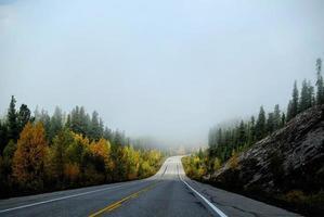 Roadtrip im Herbst foto