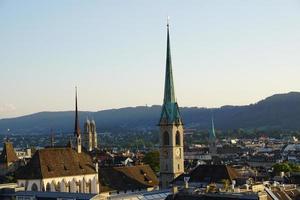 Dächer in Zürich