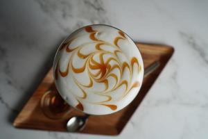 Kaffee Latte Kunst