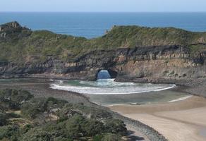 südafrikanisches Loch in der Wand