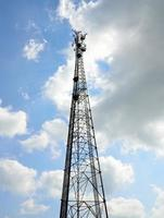 Stahlmikrowellenturm foto