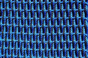 schwarzes und blaues Stoffdesign