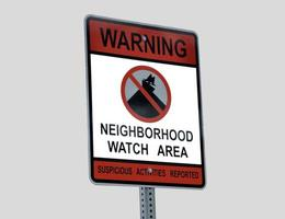 Nachbarschaftswachschild