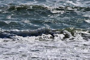 Wellen des Ozeans foto