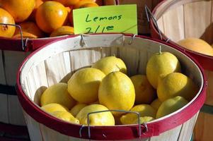 Zitronen zu verkaufen