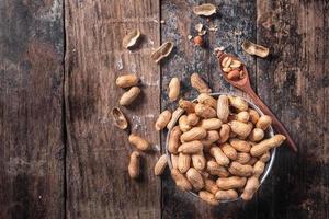 Erdnuss in einer Schüssel