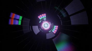 Spektrum Farbe 3d Illustration Hintergrund