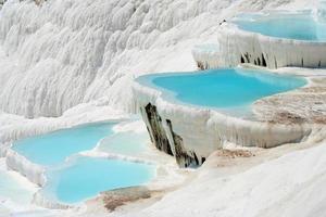 Pamukkale Becken foto