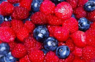 köstliche frische Beeren foto